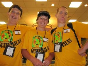 Jonathan, Brayden, and Glenn (Team 6!)