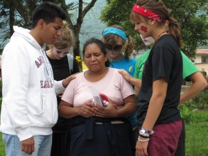 Praying in Antigua, Guatemala
