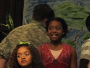 Singing in Sunday Morning Service